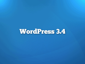 WordPress 3.4 Feature Preview