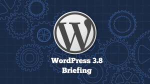 WordPress 3.8 Briefing
